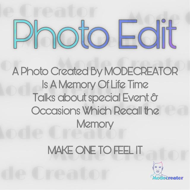 #modecreator #photoedit