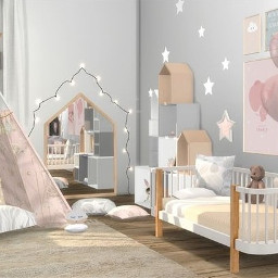 freetoedit room emptyroom background house bedroom babyroom cute pink white aesthetic