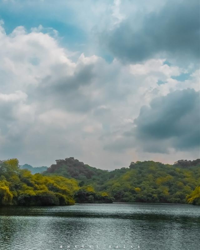 _' Mera Dil Pahadon mein kho gya..   @picsart @freetoedit  #landscapes #dam #monsoonseason #naturephotography  #bharatraikaphotography #photography