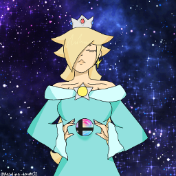ibispaint_x ssbu supersmashbrosultimate rosalina princessrosalina nintendo supermario proud