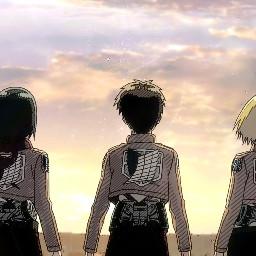 shingekinokyojin mikasa eren anime