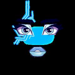 freetoedit einnsa einnsa_x3 roblox adoptme mugalo royalehigh girlface girl face blueface robot