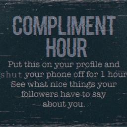 compliments complimenthour freetoedit