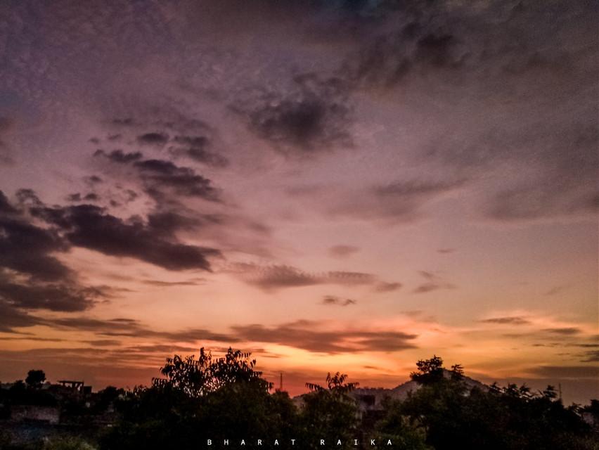 #sky #sunsetphotography #bharatraika #bharatraikaphotography #clouds