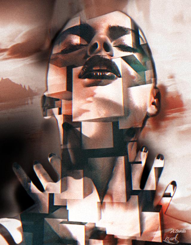 #artisticportrait #beauty #surreal #remixed #undefined #doubleexposure