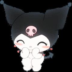 kuromi sanrio softgoth mymelody hellokitty cute japanese babie bunnie gothic soft kawaii grunge softgrunge aesthetic