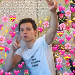 tommyismine awarness suicide help moreselflove bekinddonthate tomholland loveyourself behappy ily selfharm therapy helpyourself