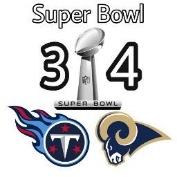 superbowl34 tennesseetitans losangelesrams nfl football freetoedit