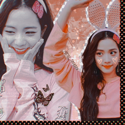 freetoedit picsart editor edit creative butterfly jisoo blackpink kpop blink kpoper support repost remix remixme remixed