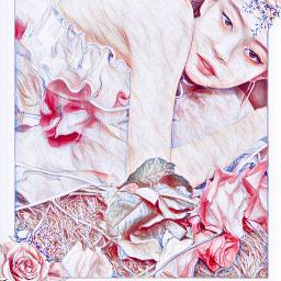 jennie blackpinkjennie flower desafio fofo feed freetoedit rcspringishere springishere