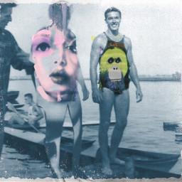 swimtime facetoface oldfriends swimwear beachbody beachbums beachwearfashions abstractphotography inspiredbygrandpa