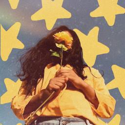 rusty stars yellow imdeceased aesthetic freetoedit