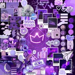 purple purpleaesthetic purplecrown freetoedit