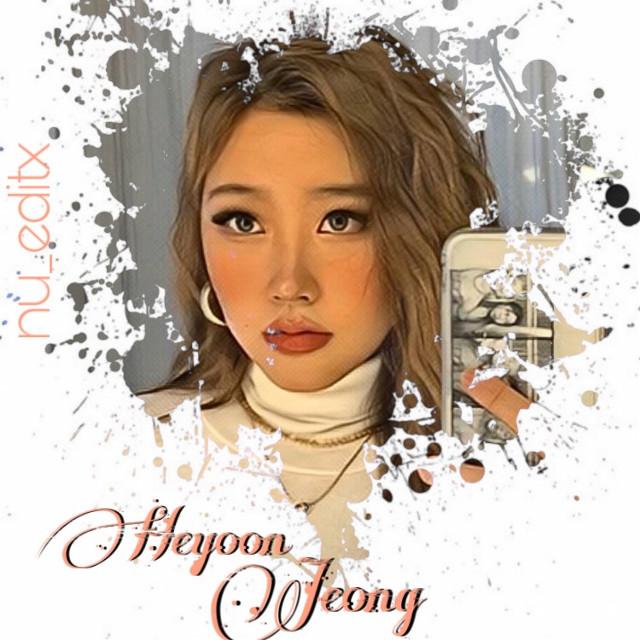 @jeong_heyoon @nowunitedglobal #heyoonjeongedit