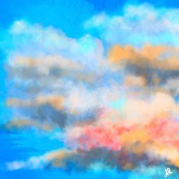 freetoedit picsart mydrawing sky background clouds remix remixit