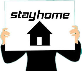 stayhome covid freetoedit