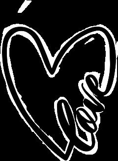 love heartwithlove black freetoedit