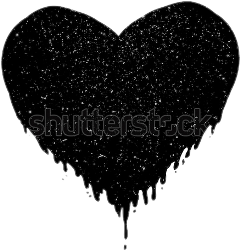 heart black blackheart🖤 freetoedit blackheart