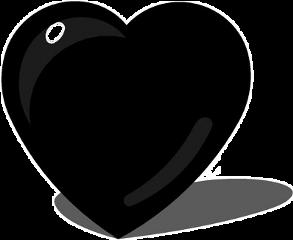 shadow heartshadow black blackheart🖤 freetoedit blackheart