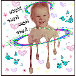 natnat7w natattack toddler butterflies hearts