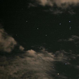 sky night aesthetic darknight