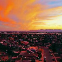 freetoedit myhometown texas elpaso sunset pcgoldenhour