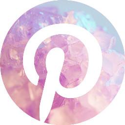 pinterest crystal pink app icon ios14 iconedit iconoverlay