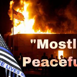 mostlypeaceful alm riots trump trump2020 backtheblue defendthepolice freetoedit