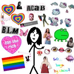 blm acab poppy thatpoppy ghostemane charlidamelio jazminbean clairo gay eattherich alt freetoedit