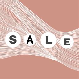 depop sale pink letters