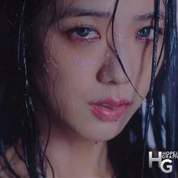 freetoedit blackpink jisoo kimjisoo kpop jisoo💗 stayinspired aesthetic love sick girls korean hopejins jennie byme pink blue heypicsart madewithpicsart