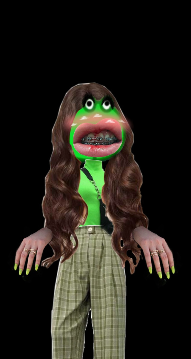 OMG I NEVER KNEW THAT FROGGY GOT HER SELF A MAKEOVER♡