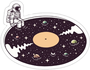 redbubblestickers redbubble hastag galaxy aesthetic darkblueaesthetic space spacestickers outofthisworld music sticker stickers freetoedit