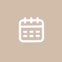 calendar appicon beigeappicon