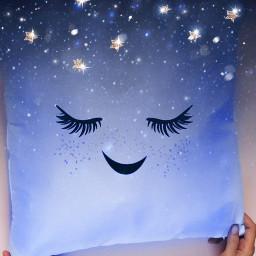 freetoedit pillow galaxy galaxypillow bluepillow ircdesignapillow
