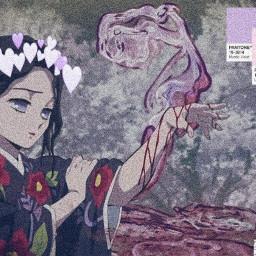 anime animeedit kny kimetsunoyaiba demonslayer ladytamayo tamayo freetoedit