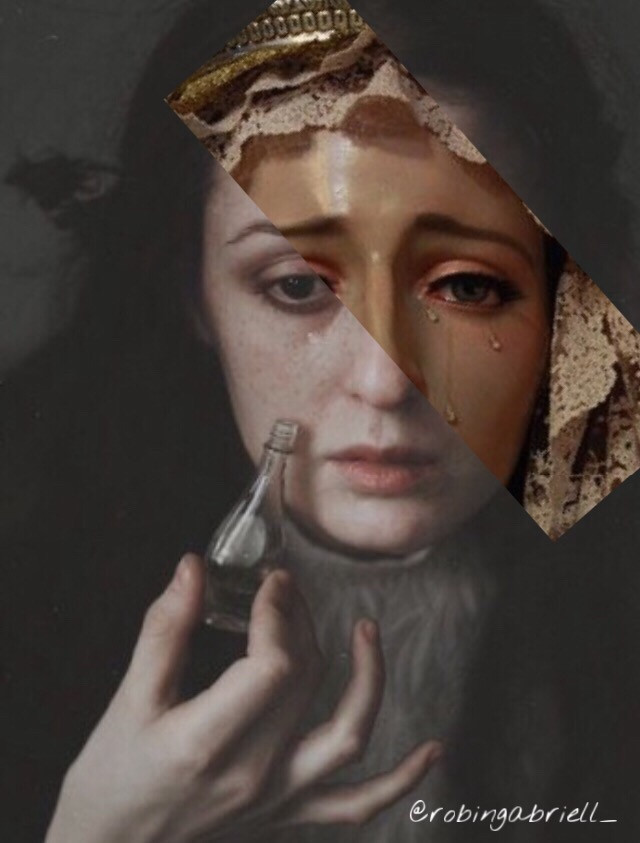 every tear is sacred ~ . . . #collageart #mixedmedia #collageartistsoninstagram #collageartist #collageartwork #art #guhitpinas #artporn #artoninstagram #artistsoninstagram #visualarts #artcollections