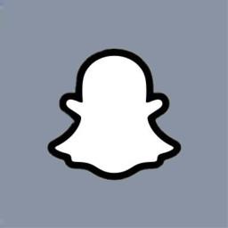 snapchat snaplogo snapchatlogo bluegray personalizedlogo freetoedit