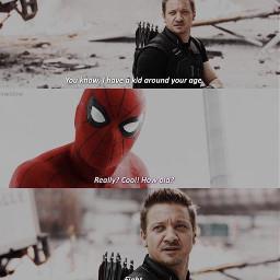 spiderman hawkeye memes marvel