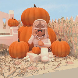 gfx gfxgirl roblox robloxbloxburg fall fallgfx halloween haloweengfx blondehair robloxgfx like follow forfun haveagreatday canwegetthispostto10likes benice pumkins pumpkinpatch robloxpumpkin pumpkinpacthgfx haybell