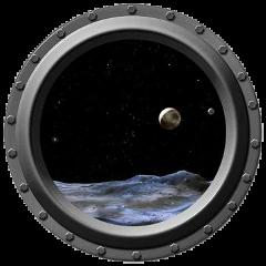 circle hole door sky planet fstickers freetoedit