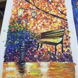 painting pcautumnflatlay autumnflatlay