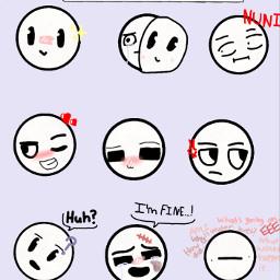 freetoedit emotions personality drawing flipaclip e epic happy sad angry interesting