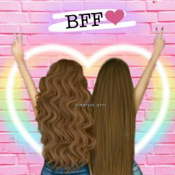 freetoedit bff mejores amigas bestfriendforever