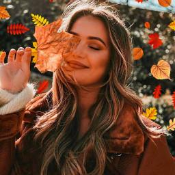 freetoedit autumn leavesfall orange yellow sun aesthetic srcautumnleaves autumnleaves