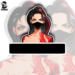 freetoedit gaminglogo youtubechannel freefire free_fire❤ bikram ninja_gaming logo free_fire best gaming freefirebattlegrounds