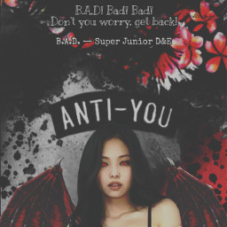 vampire jennie blackpink halloween bad badsong wallpaper badblood badbloodalbum blood tryitout dark replayed heypicsart makeawesome wings costume sprinkle scary quote quotes background red black aesthetic freetoedit