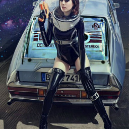 freetoedit blanktape cassette music musicnotes woman sexylegs boots leather inabubble coloredsmoke spaceage galactic car imagination myimagination stayinspired create creativity madewithpicsart justforfun