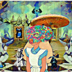 freetoedit dream crazy alice aliceinwonderland lsd acid psy mushroom