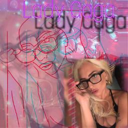 ladygagainspired ladygaga2020 gagamonster cliffdodsonpicsart freetoedit